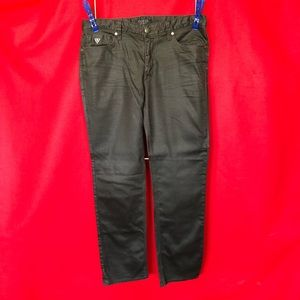 Men's Guess Lincoln Slim Coated Jeans. Sz 34 LP529